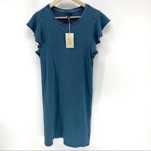 """NWT universal thread """"flutter"""" blue dress"""